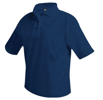 UNIFORM UNISEX SHORT SLEEVE BLENDED PIQUE POLO SHIRT