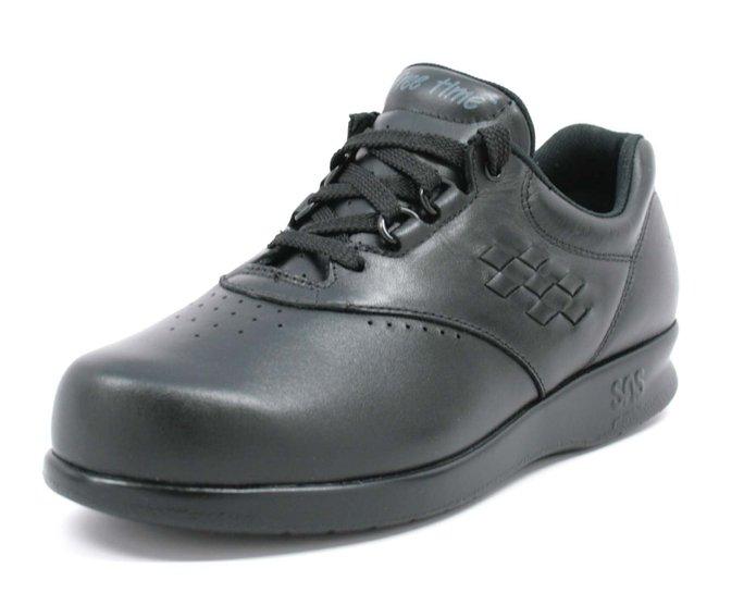 Sas Freetime Black Shoes