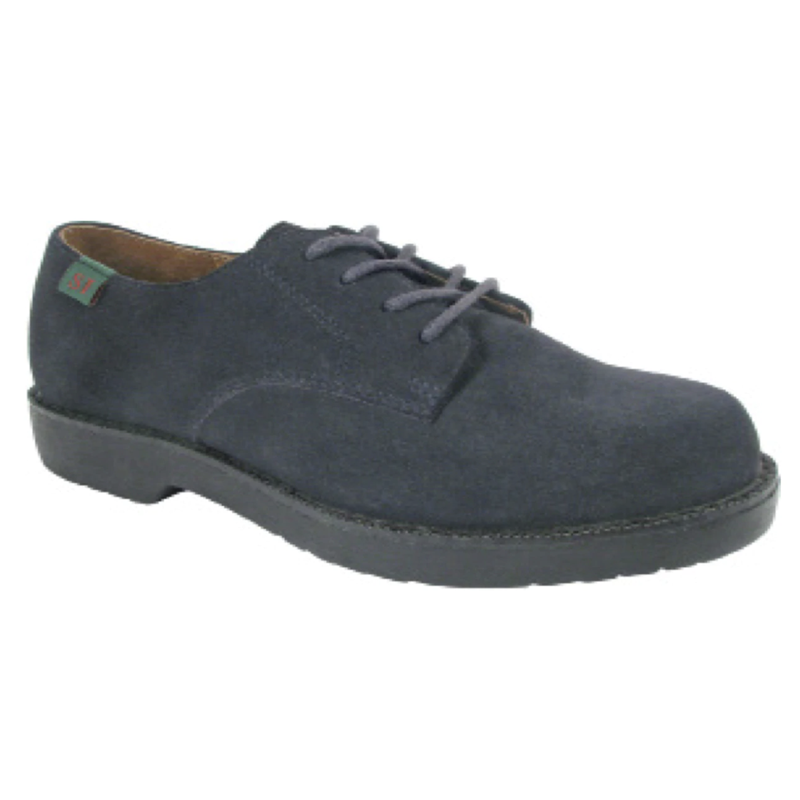 School Issue Semester Youth Navy Suede Oxford